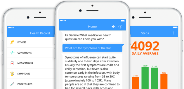 Chatbots MedWhat screenshot
