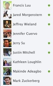 Facebook Chat Redesign