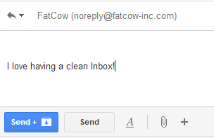 clean up gmail
