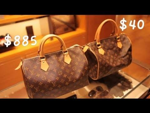 Close variants designer bag YSL real vs fake
