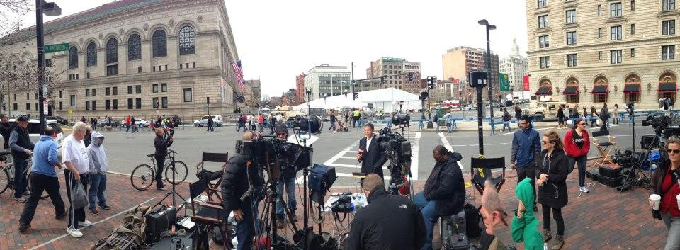 CNN Don Lemon in Copley Square