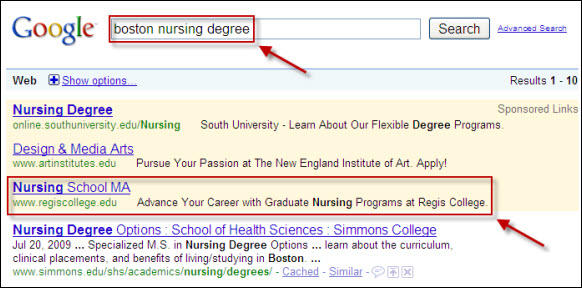 SEO for college mistakes