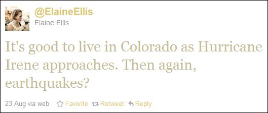 Colorado Earthquake