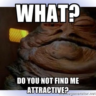 Comedy in content marketing Jabba the Hut meme