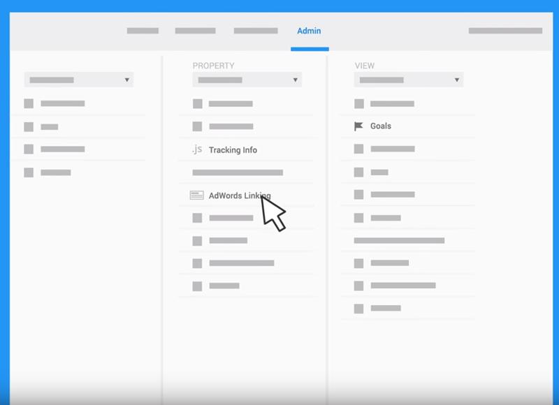 connecting google analytics to adwords