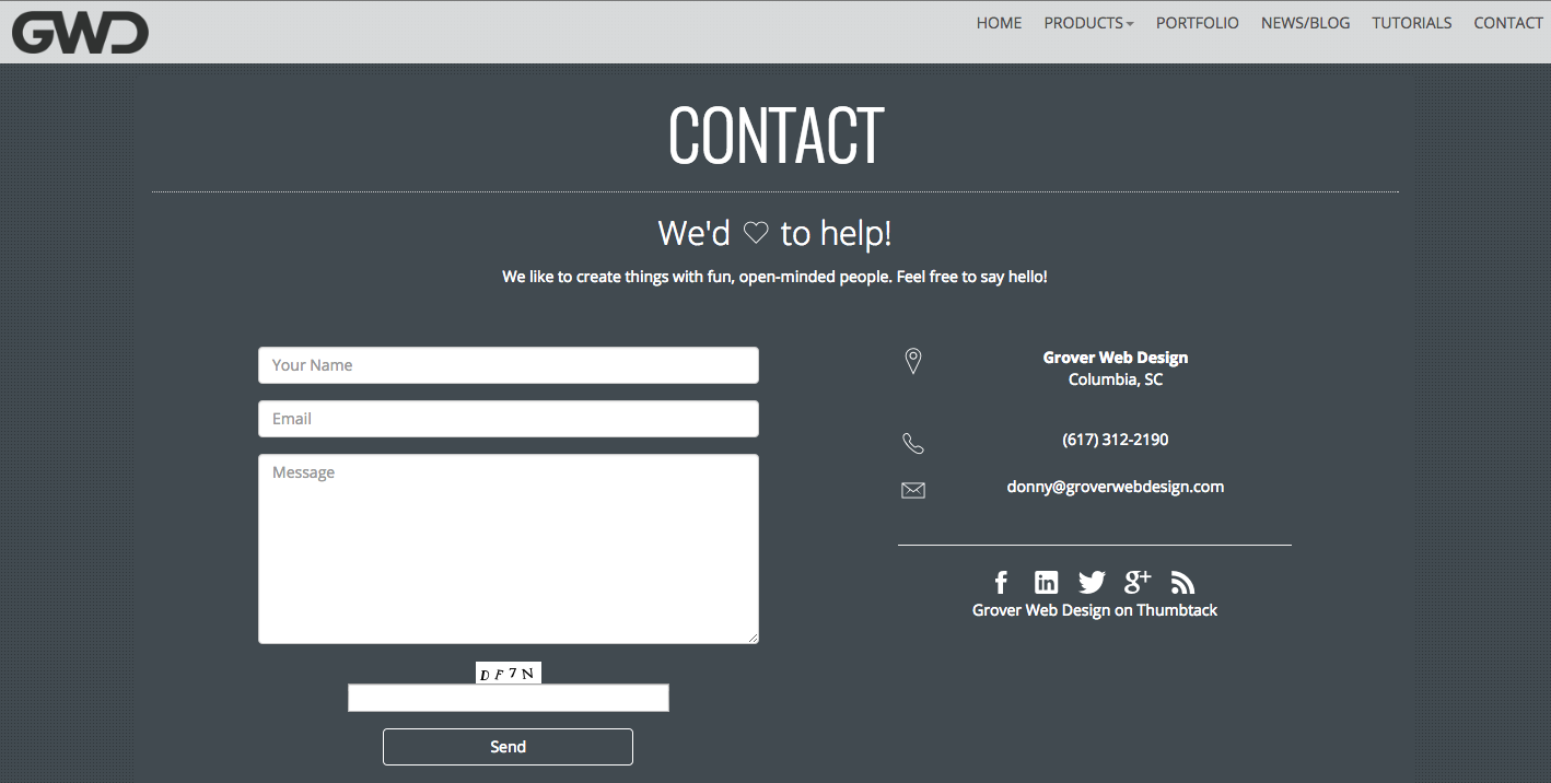 Contact Page: 21 Tips, Tricks & Examples For A Rocking Contact Us Page