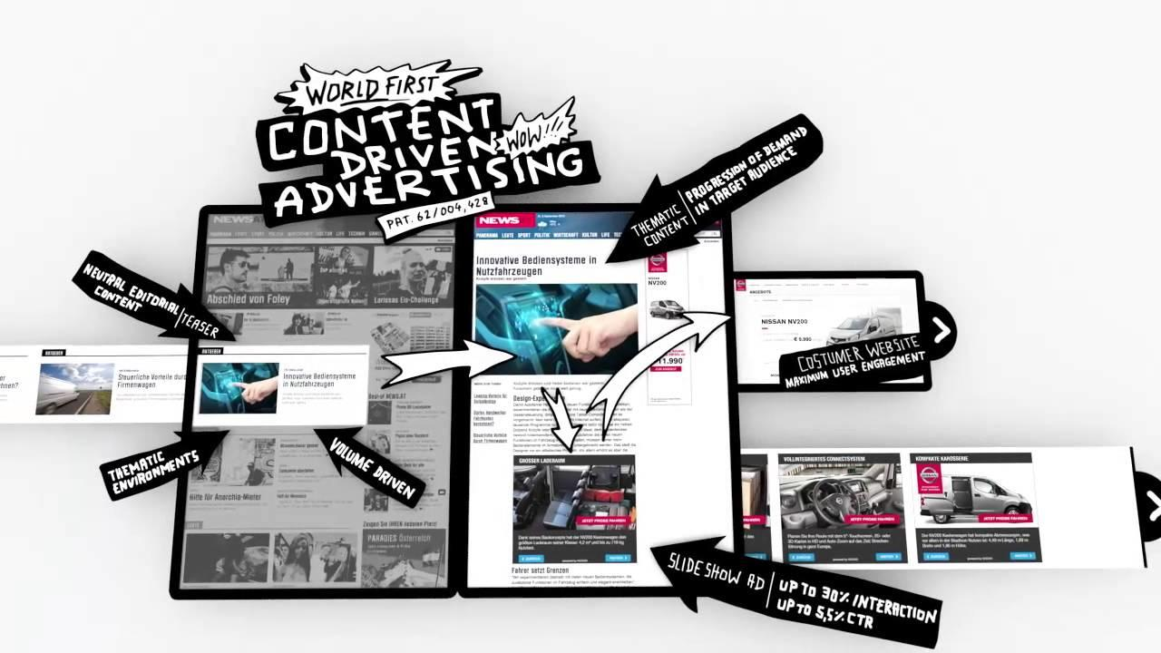 Content advertising concept