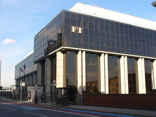 Content marketing metrics Financial Times headquarters in London