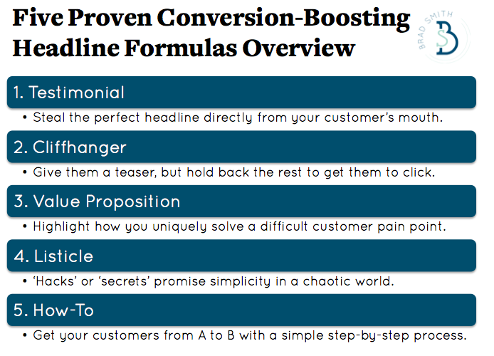 landing page headlines guide