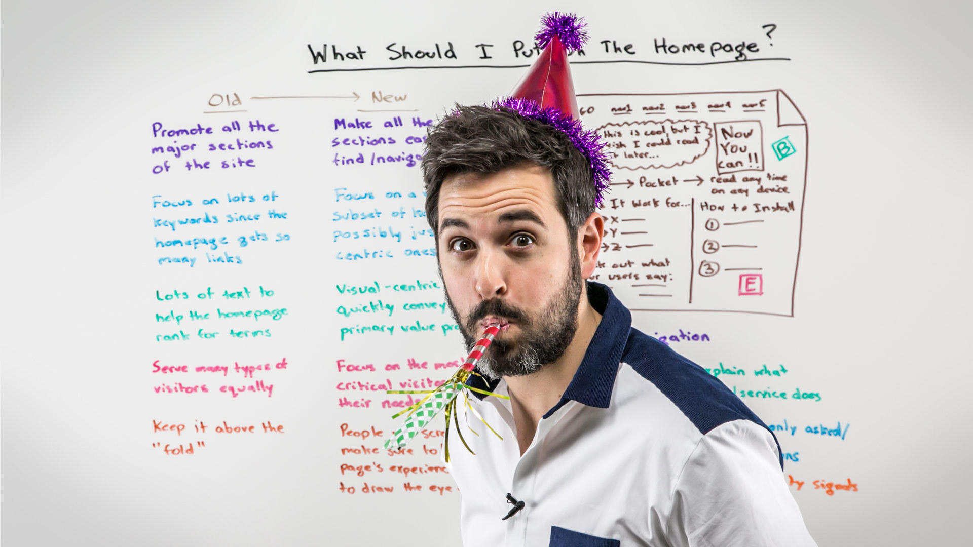 Corporate blogs Rand Fishkin example