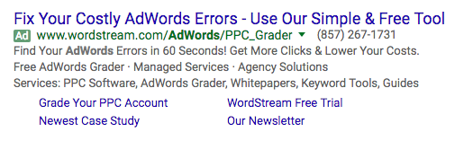 AdWords Mistakes