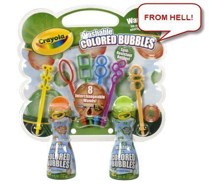 Crayola Colored Bubbles