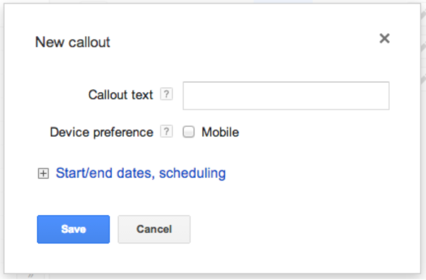 create callout extension