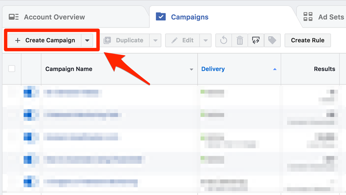 facebook ad campaign new langing page attribution