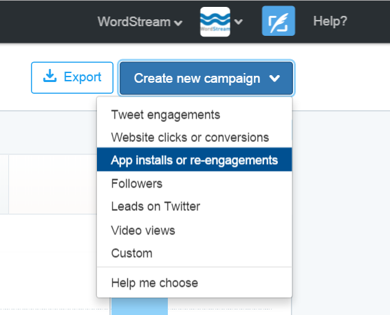 creating twitter ads for lead gen