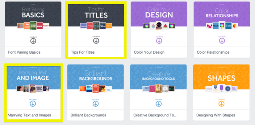 creating blog images