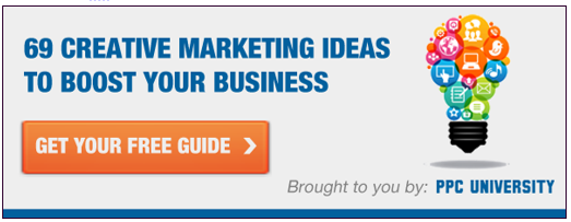 ad for marketing idea guide