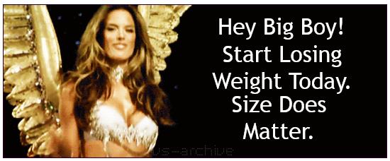 size matters victorias secret model