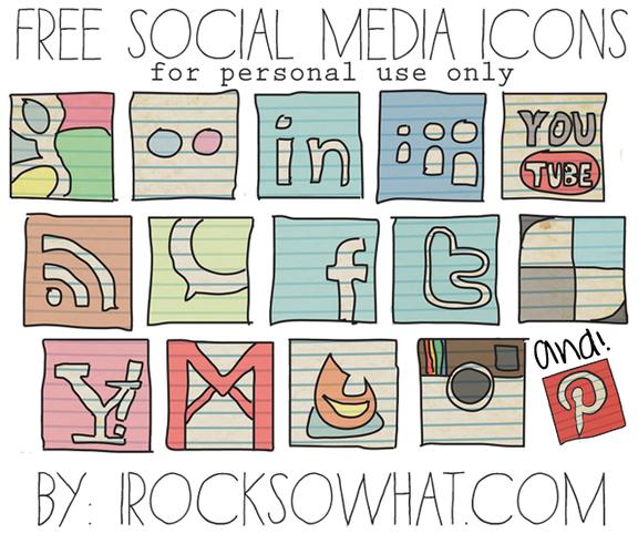 creative social media buttons