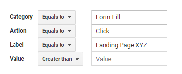 custom conversion parameters google analytics