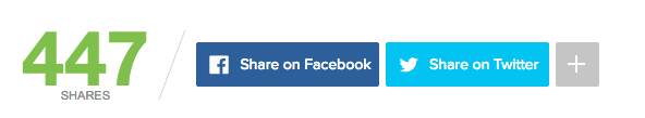 custom social share buttons