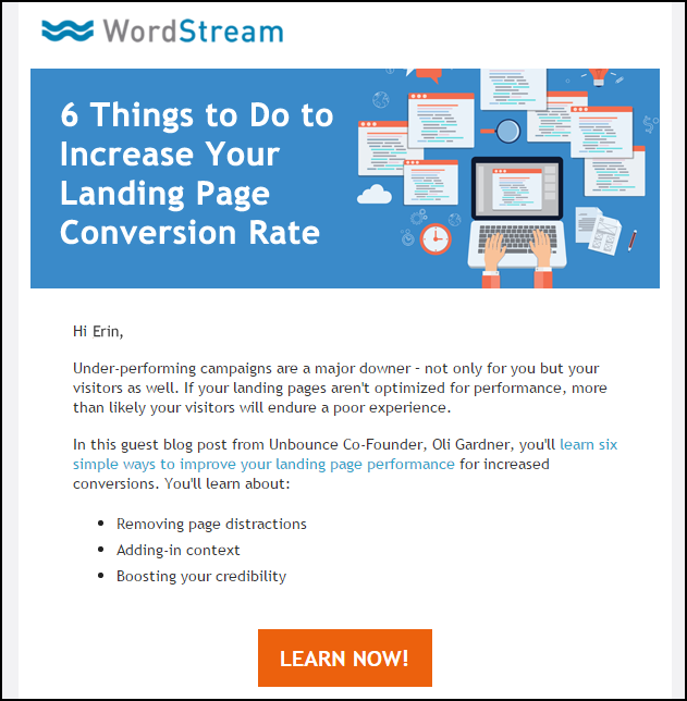 email tips for customer marketing