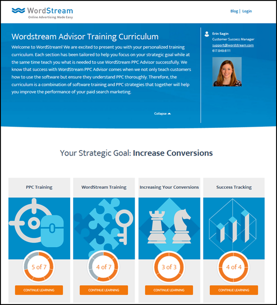 customer marketing and training