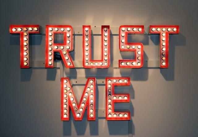 Customer testimonials trust