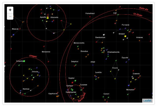 Data visualization tools Leaflet screenshot
