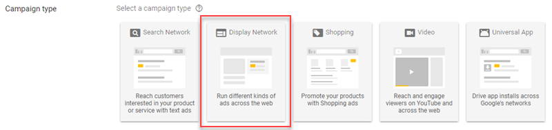 display network remarketing gmail campaign