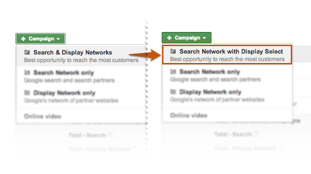 Google Display Network tips don't use Display Select