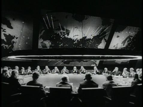 Dr Strangelove war room