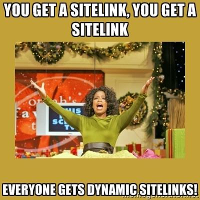 dynamic sitelinks