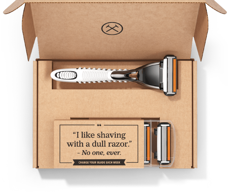 Ecommerce retention Dollar Shave Club example