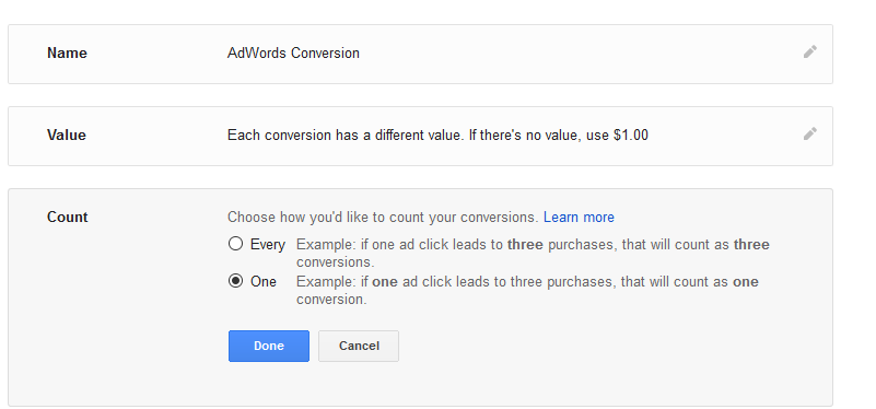 adwords conversion tracking changes