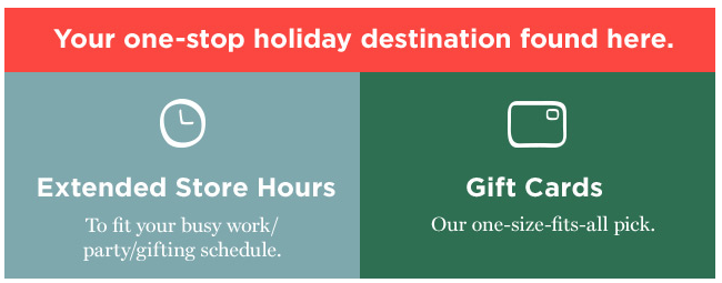 Gift Card Example in Promo Email