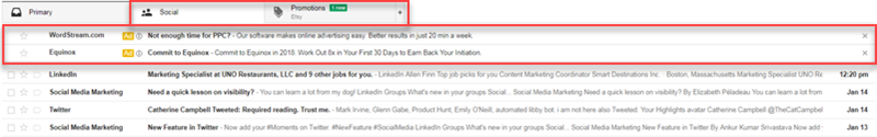 email remarketing with gmail ads