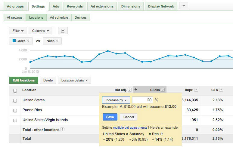 Google Enhanced Campaigns - Mobile Bid Adjustments
