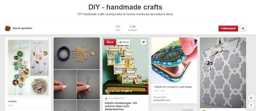 Etsy marketing Pinterest