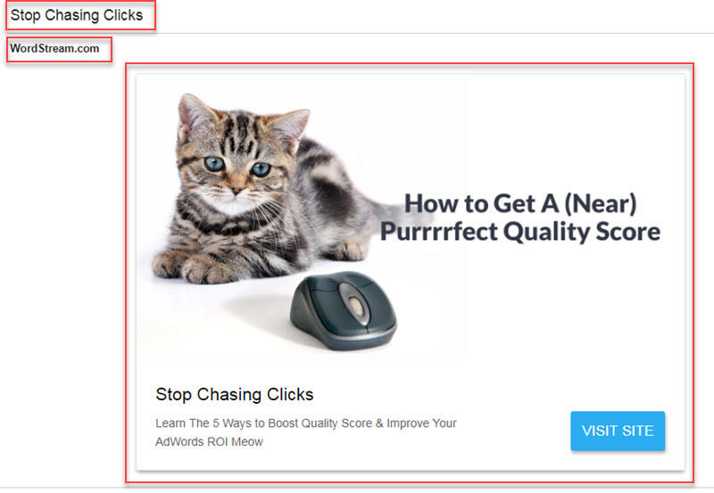 expanded gmail ad for email remarketing
