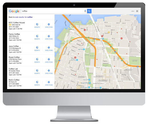 google expanded maps ads