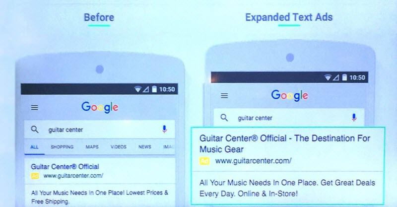 expanded text ads in adwords