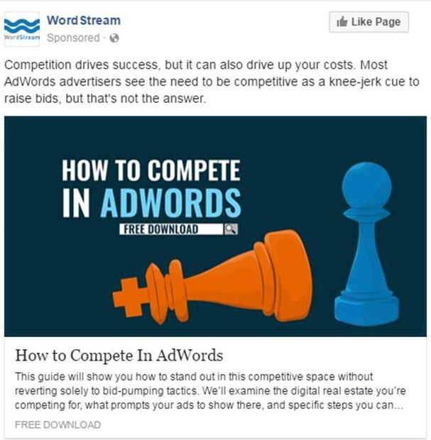 Facebook Ad Copy Test