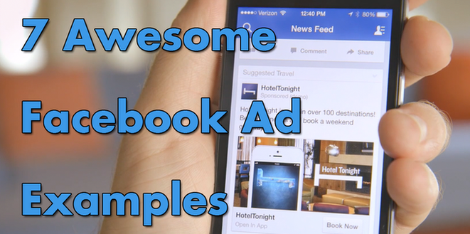 7 Awesome Facebook Ad Examples (And Why They Work) | WordStream