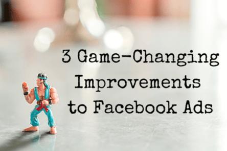 Facebook ad improvements