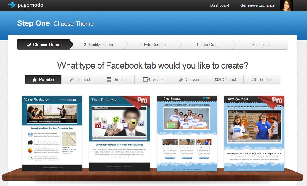 Facebook ad tools Pagemodo
