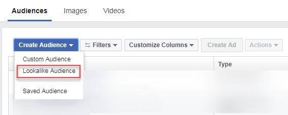 facebook lookalike audiences creation