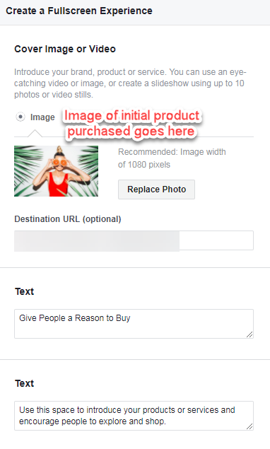 post-holiday facebook ads for ecommerce collection ads