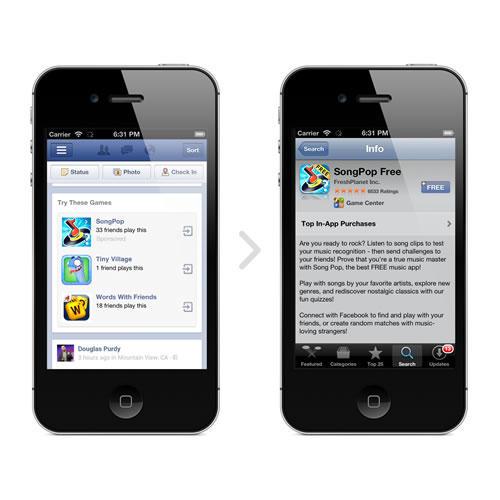 Facebook App Ad