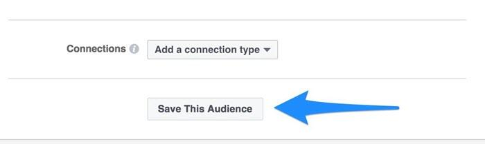 facebook audience creation broad vs specific